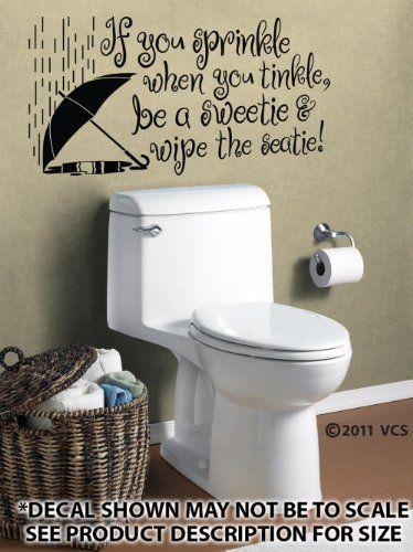 Die 18 Besten Bilder Zu Bathroom Wall Decals Auf Pinterest   Badezimmer  Zitate