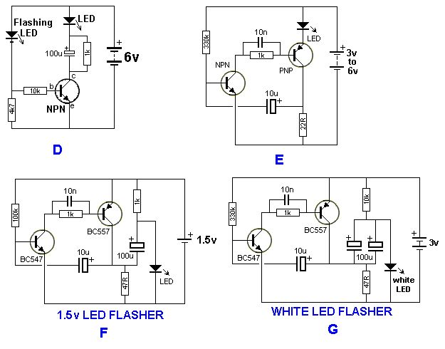 home appliance circuit with 555 timer electronics circuits