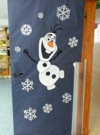 Puerta de Olaf   navidad   Pinterest   Olaf