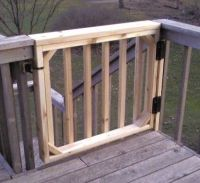 Best 25+ Deck gate ideas on Pinterest | Outdoor dog gate ...