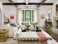 Luxe Magazine Spanish bungalow living room http://www ...