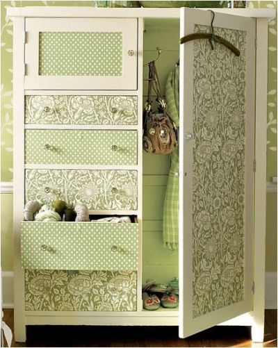 25+ Best Ideas about Wallpaper Furniture on Pinterest   Wallpaper dresser, Wallpaper drawers and ...