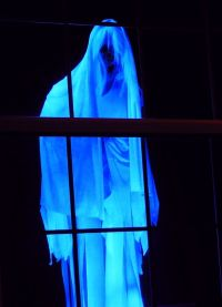Floating ghost (similar to Creepshow Creep ) outside ...