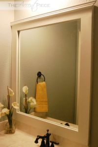 Best 20+ Frame Bathroom Mirrors ideas on Pinterest ...