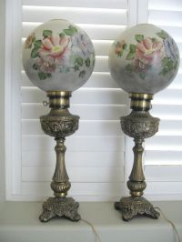 17 Best images about Antique gone with wind lamps on ...