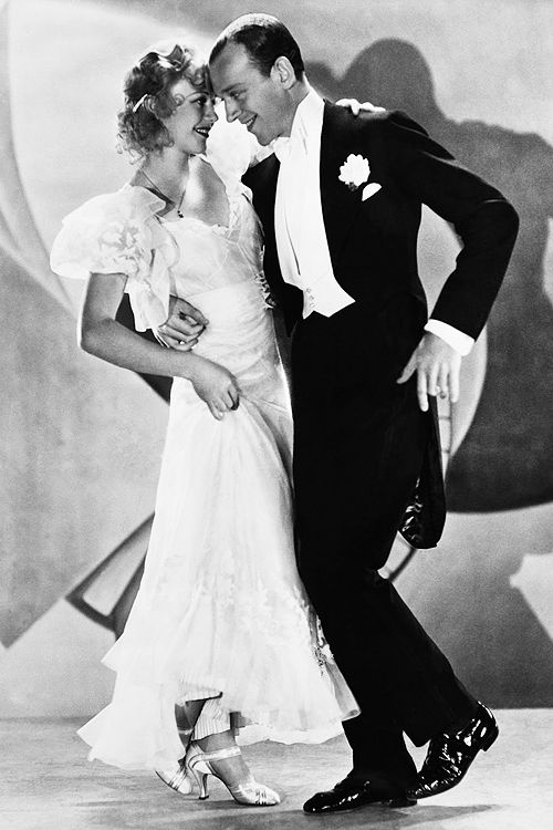 Ginger Rogers  Fred Astaire in 'Flying Down to Rio', 1933.