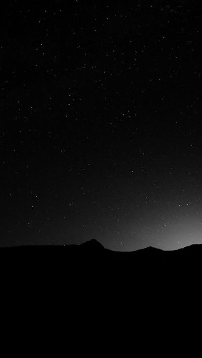 Dark Night Sky Silent Wide Mountain Star Shining #iPhone #5s #wallpaper | iPhone 5(s) Wallpapers ...