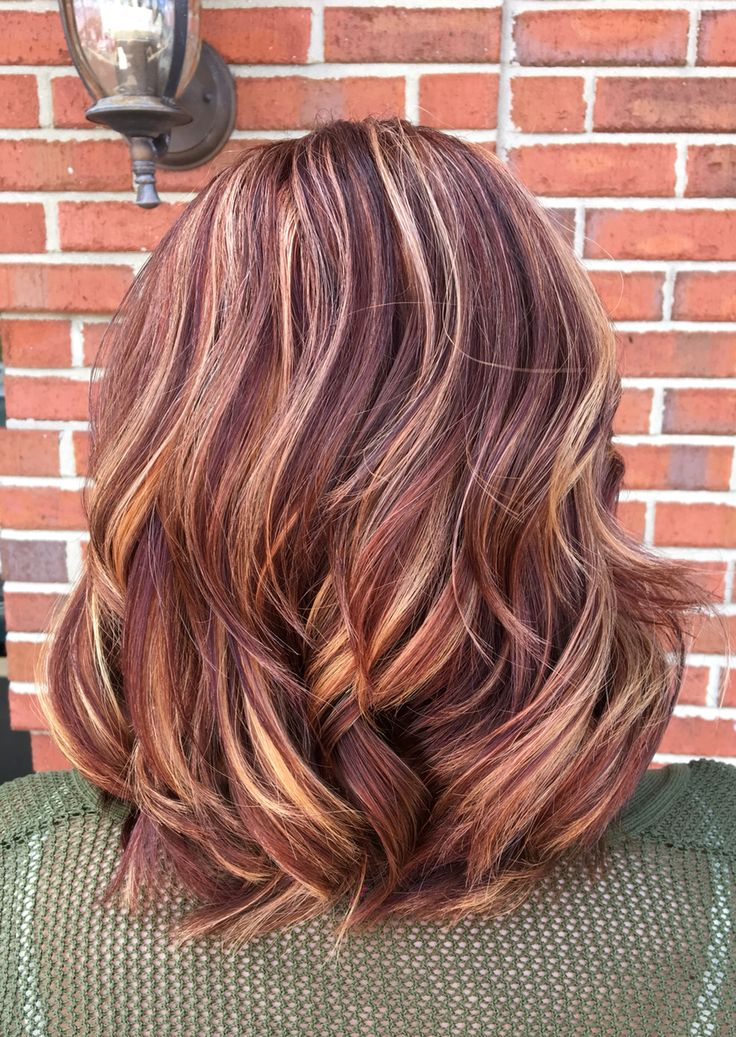 Colors In Dirty Blonde Hair Copper Violet Blonde Balayage … Pinteres…