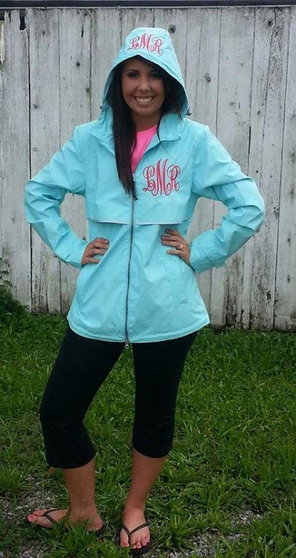 monogramed jackets