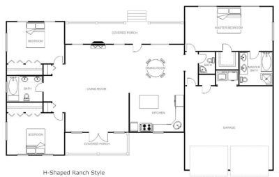 32x50 rectangle ranch house plans | Shaped Ranch House Plans | House Plans | House plans ...
