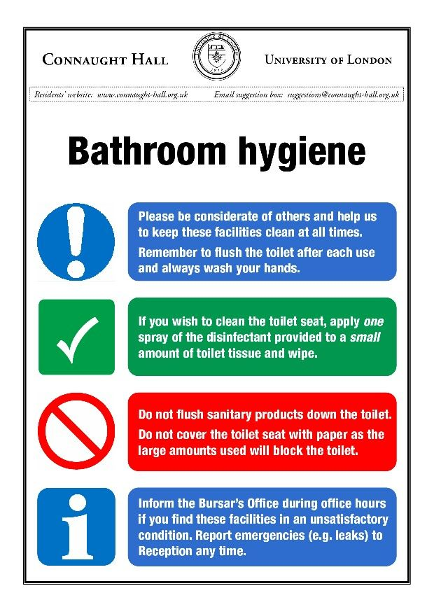 Bathroom Signs To Keep Clean restroom rules and cleaning signs