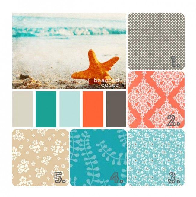 10 Best Ideas About Beach Color Palettes On Pinterest | Beach