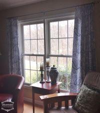 17 Best ideas about Easy Window Treatments on Pinterest ...