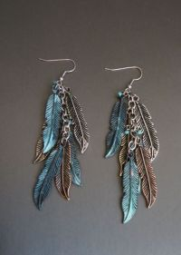 1000+ ideas about Feather Earrings on Pinterest | Feather ...
