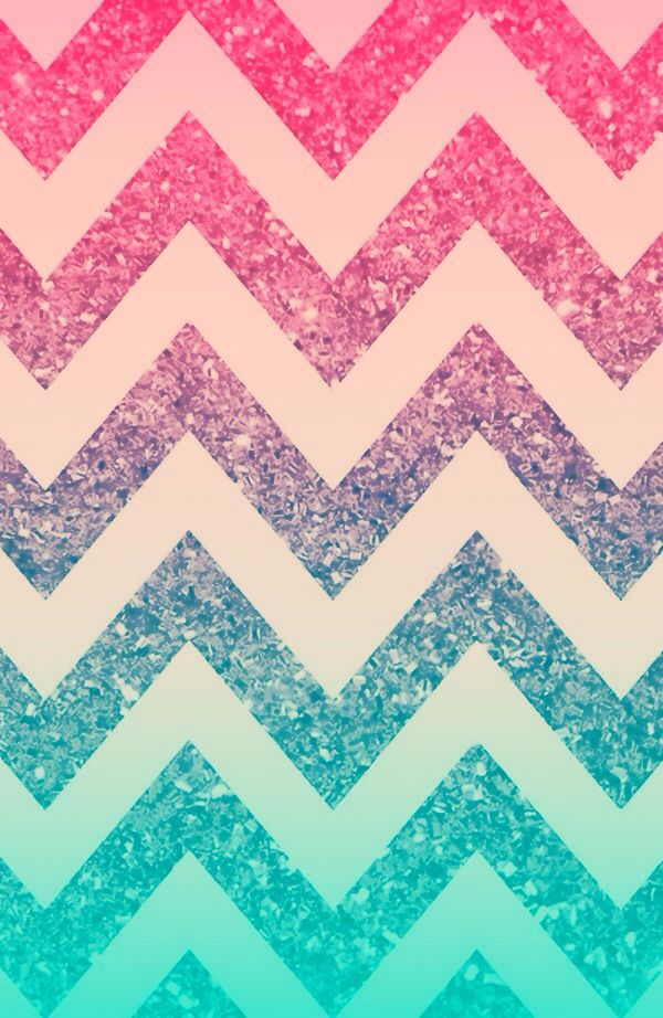 Ombr 233 sparkle chevron wallpaper created by sydney cook