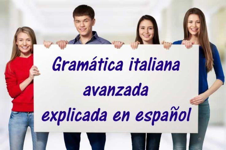 Gramática italiana avanzada