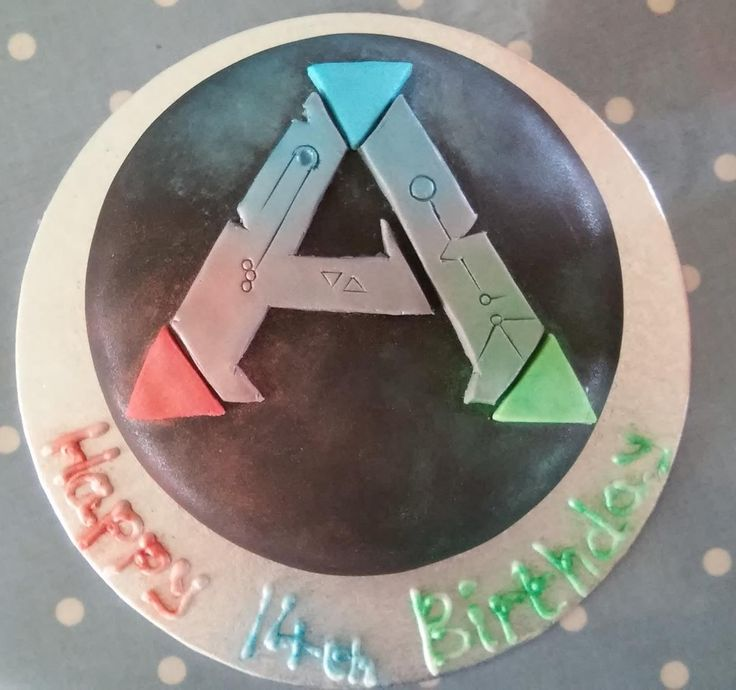 Wallpaper Cupcake Cute Ark Survival Evolved Birthday Cake Birthday Party Ideas