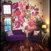 17 best ideas about Flower Mural on Pinterest | Murals ...