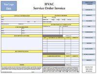 PDF HVAC Invoice Template Free Download   HVAC Invoice ...