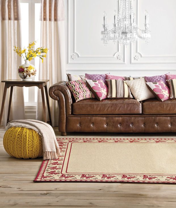45 Best Images About Leather Couch And Pillows On