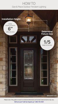 Best 25+ Front porch lights ideas on Pinterest | Porch ...