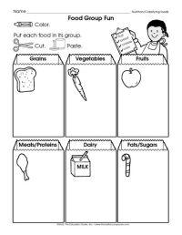 All Worksheets  Food Groups Worksheets For Kindergarten ...