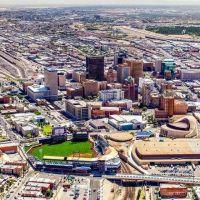 TEXAS~El Paso Texas, shows our new AAA baseball stadium ...