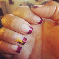25+ best ideas about Sunflower Nails on Pinterest | Mint ...