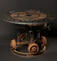 Steampunk table   Steampunk   Pinterest   Furniture ...