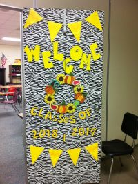 74 best images about Back to school door decorations on