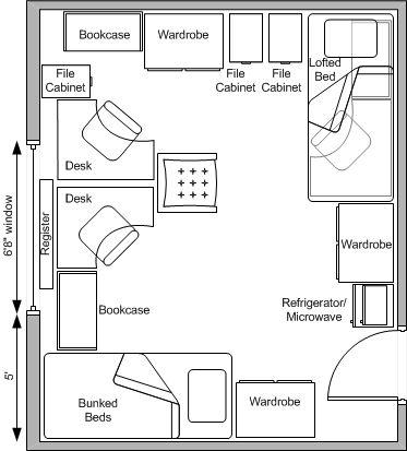 1000+ Images About Students House Plans On Pinterest | Mini Fridge