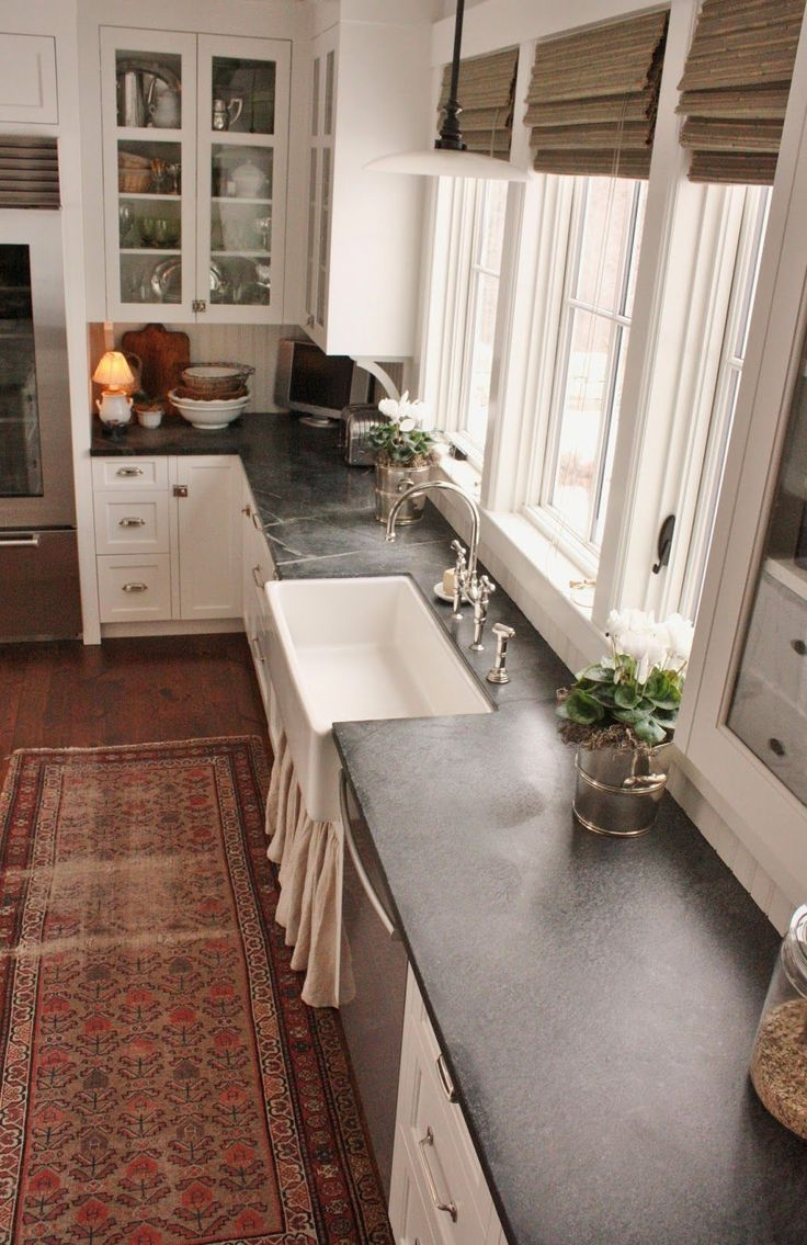 soapstone countertops countertop kitchen Granite kitchen counter inspiration