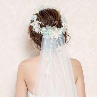 25+ best ideas about Flower crown veil on Pinterest ...