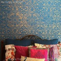 25+ best ideas about Moroccan wall stencils on Pinterest ...