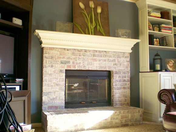1000+ Ideas About Whitewash Brick Fireplaces On Pinterest | How To