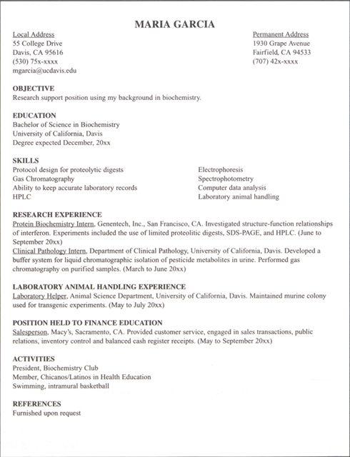 it internship resume samples