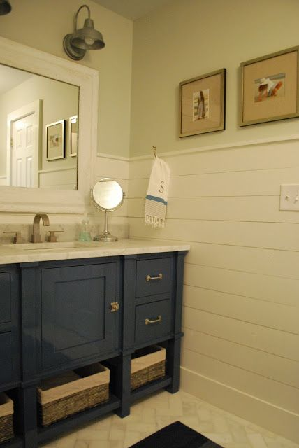 78 Best Ideas About Wainscoting Bathroom On Pinterest | Bead Board