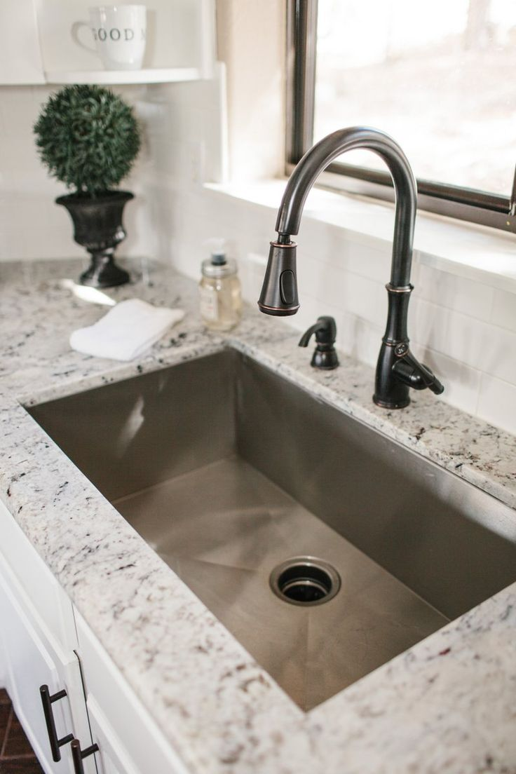 granite kitchen sinks granite kitchen sinks Find this Pin and more on Home Decor countertops sink kitchen