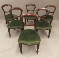 Victorian balloon back chairs | period furniture ...