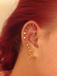 17 Best ideas about Multiple Ear Piercings on Pinterest ...