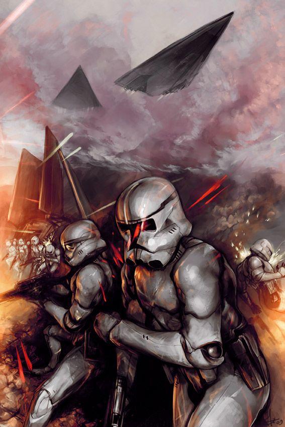 Iphone X See Through Wallpaper Clone Troopers Fan Art By Smirtouille Deviantart Com Art