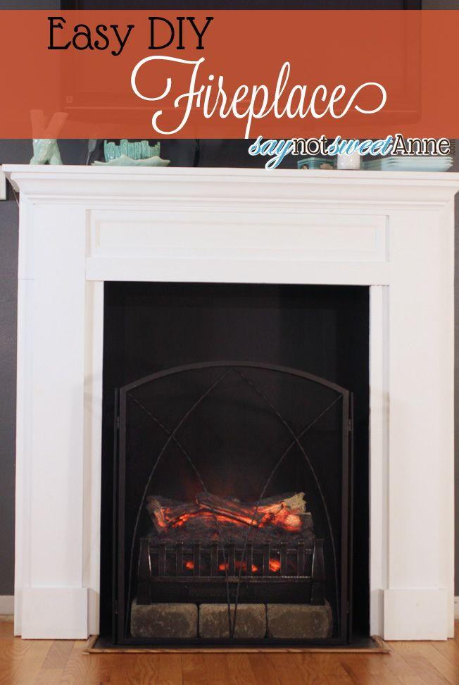 25 Best Ideas About Cheap Fireplaces On Pinterest Faux