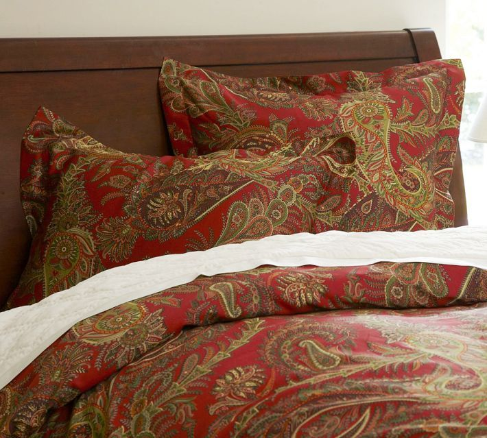 Ikea King Duvet Cover Pottery Barn, Duvet Covers And Paisley On Pinterest