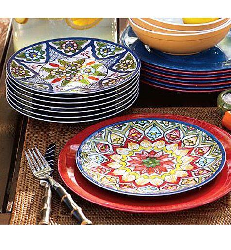 Beautiful Mexican Tile Dishes Talavera Dinnerware