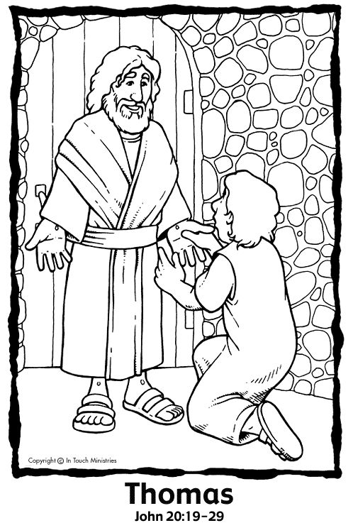 bible coloring pages easter luke 36
