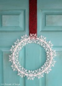 110 best images about DIY Christmas Door Decorating Ideas ...