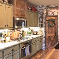 25+ Best Ideas about Farmhouse Kitchen Cabinets on ...