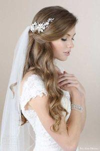 Best 25+ Wedding hairstyles veil ideas only on Pinterest ...