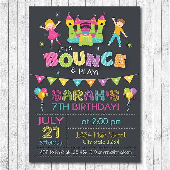 kid birthday invitation cards