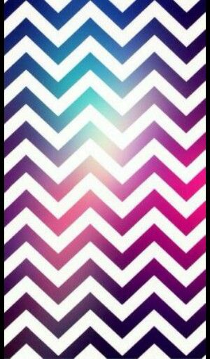 Cute Locker Wallpaper White Pink And A Little Bit Of Light Blue Zig Zag Stripes